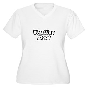 d99fef39 Wrestling Dad Women's Plus Size T-Shirts - CafePress