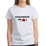 I love the Monkeybars - Women's T-Shirt