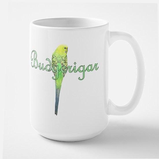 Fancy Budgie Large Mug