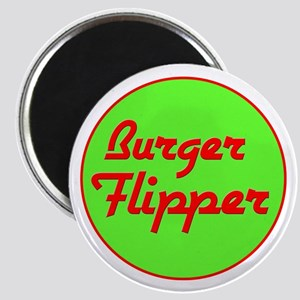 Burger Flipper Magnet