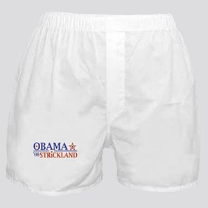 Obama Strickland 08 Boxer Shorts