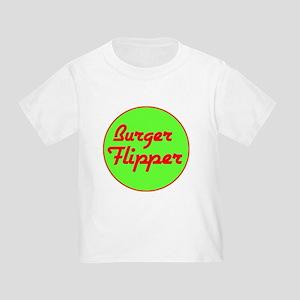 Burger Flipper Toddler T-Shirt