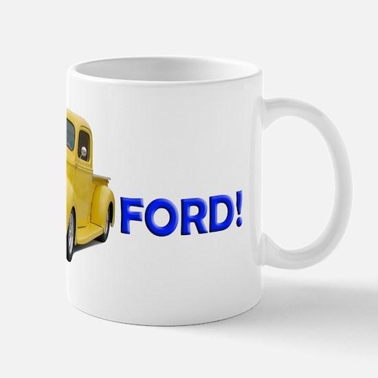 Helaine's Ford PickUpTruck Mug