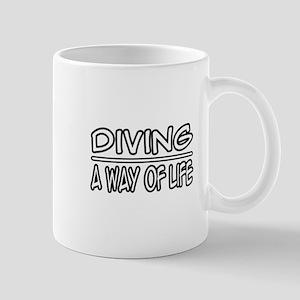 """Diving: A Way of Life"" Mug"