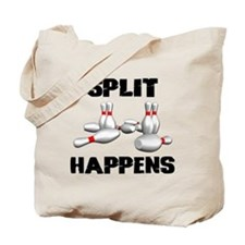 Split Happens Bowling Tote Bag