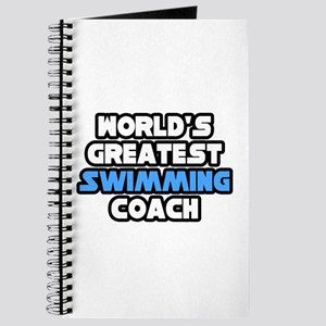 """""""Greatest Swimming Coach"""" Journal"""