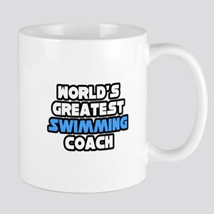 """Greatest Swimming Coach"" Mug"