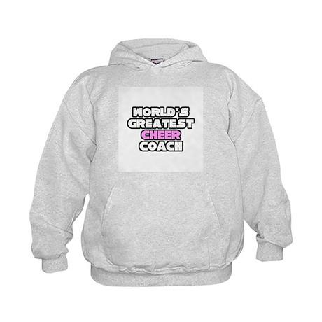 """""""Greatest Cheer Coach"""" Kids Hoodie"""