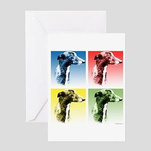 Greyhound Pop Greeting Card
