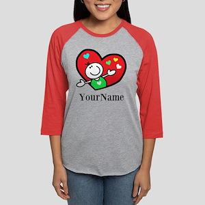 Happy Heart (p) Long Sleeve T-Shirt