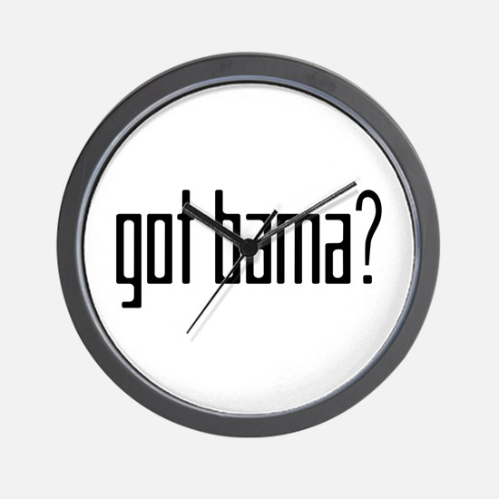 Funny Mama for obama Wall Clock