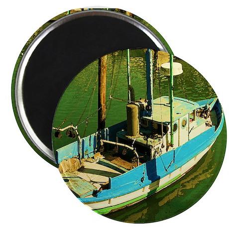 "AFTM Fishing Boat D.R. Thomas 2.25"" Magnet (100 pa"