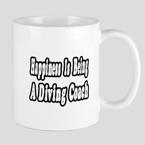 """Happiness: Diving Coach"" Mug"