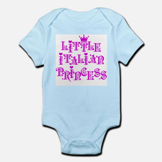 Little Italian Princess Infant Bodysuit