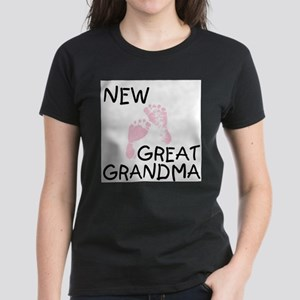 New Great Grandma (pink) Ash Grey T-Shirt