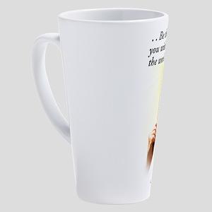 Change the World 17 oz Latte Mug