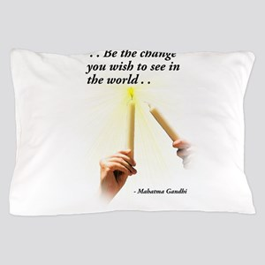 Change the World Pillow Case