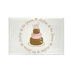 Mother of the Groom Cake Rectangle Magnet (100 pac