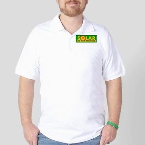Solar ... Anti-War Golf Shirt