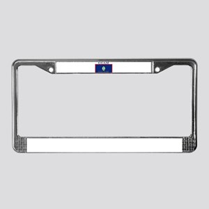 Guam Guaminian Flag License Plate Frame