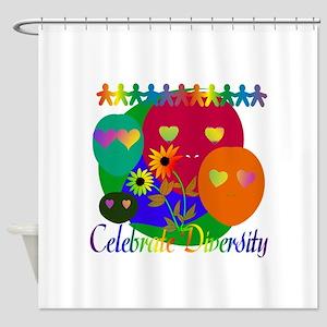 Celebrate Diversity Shower Curtain