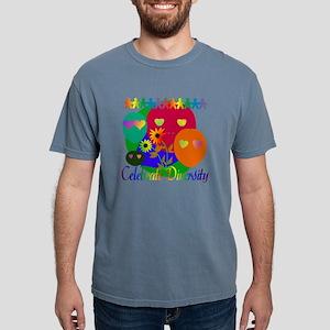 Celebrate Diversity Mens Comfort Colors Shirt