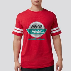 1928 Birthday Vintage Chrome T-Shirt