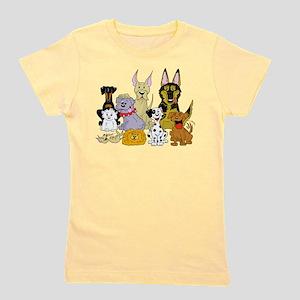 Cartoon Dog Pack T-Shirt