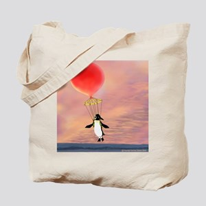 """""""I can fly"""" penguin Tote Bag"""