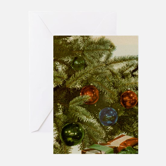 Xmas Tree Greeting Cards (Pk of 10)