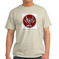 NOR Logo Cerchio Ash Grey T-Shirt