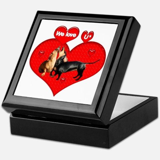 We Love U Keepsake Box