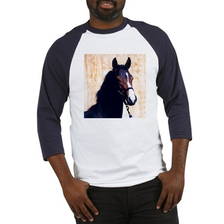 Swedish Warmblood Yearling Fi Baseball Jersey