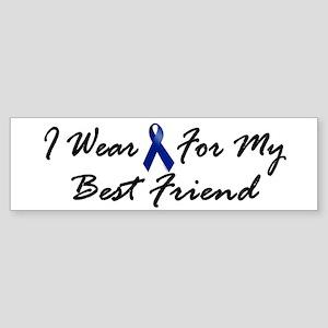 I Wear Blue For My Best Friend 1 Bumper Sticker