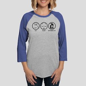 Eat Sleep Microbiology Long Sleeve T-Shirt