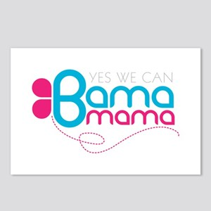 obama mama butterfly Postcards (Package of 8)