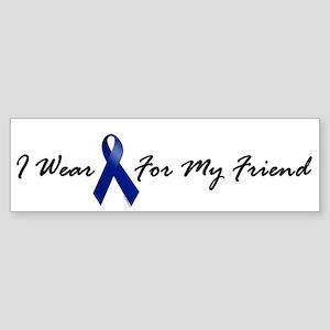 I Wear Blue For My Friend 1 Bumper Sticker