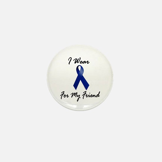 I Wear Blue For My Friend 1 Mini Button