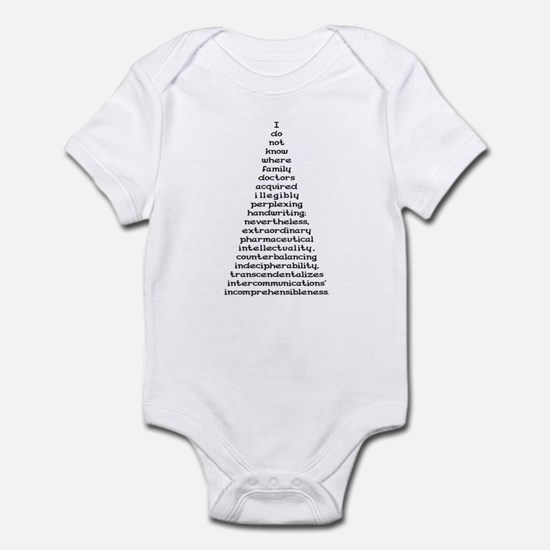 Handwriting Infant Bodysuit
