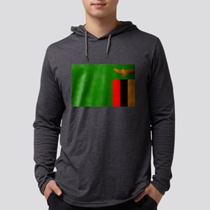 Flag of Zambia Long Sleeve T-Shirt