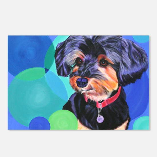 Yorkshire Terrier Postcards (Package of 8)