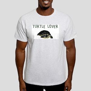 Turtle Lover Ash Grey T-Shirt