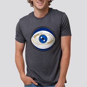 Blue evil eye with gold accents T-Shirt