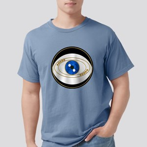 Black Evil Eye with Golden Accents T-Shirt