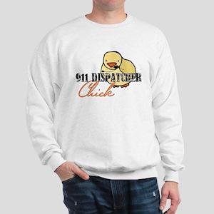 911 Dispatcher Chick Sweatshirt