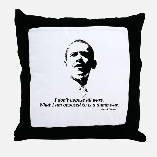 Obama 08 Throw Pillow