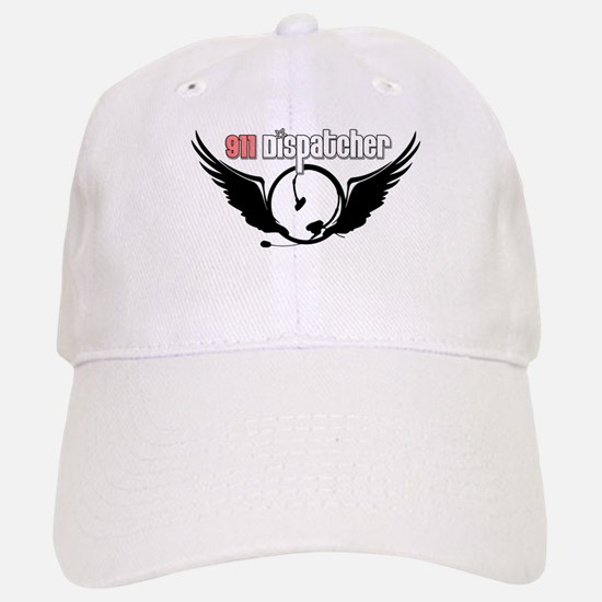 911 Dispatcher Angel Headset Baseball Baseball Cap