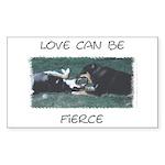 Dogkisser Rectangle Sticker