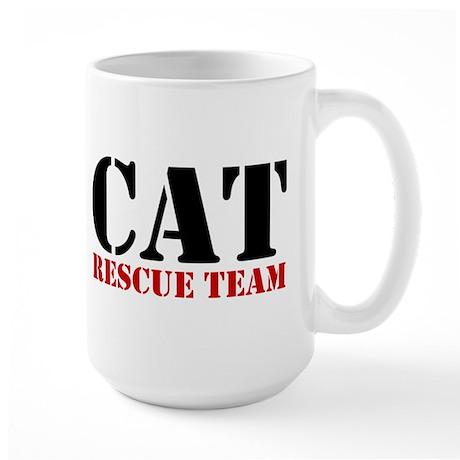 Cat Rescue Team Large Mug