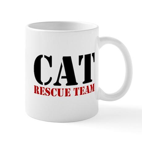 Cat Rescue Team Mug